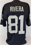Mychal Rivera Oakland Raiders Custom Home Jersey Mens Large