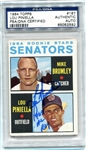 "Lou Piniella Signed ""1964 AL ROY"" 1964 Rookie Topps Card #167 PSA Autograph"