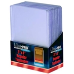 25 Ultra Pro Regular 3x4 Card Toploaders