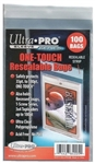 100 Ultra Pro One-Touch Resealable Card Bags Soft Sleeves