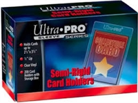 200 Ultra Pro Semi Rigid Card Holders