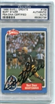 Bart Starr Signed 1988 Swell Greats Card #108 PSA Slabbed Packers Autograph