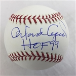 "Orlando Cepeda San Francisco Giants Signed ""HOF 17"" OML Baseball JSA COA"