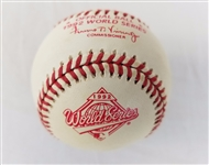 1992 Rawlings MLB Official World Series Game Baseball Toronto Blue Jays & Braves