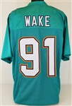 Cameron Wake Miami Dolphins Custom Home Jersey Mens 2XL