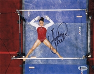 Jordyn Wieber Signed USA Gymnast 8x10 Photo Auto Autograph Beckett BAS #B85435
