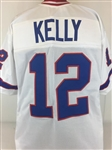 Jim Kelly Buffalo Bills Custom Away Jersey Mens XL