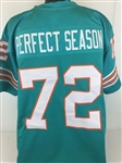 """Perfect Season"" Miami Dolphins Custom Home Jersey Mens XL"