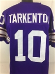 Fran Tarkenton Minnesota Vikings Custom Home Jersey Mens XL