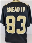 Willie Snead IV New Orleans Saints Custom Home Jersey Mens Large