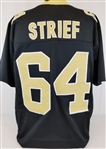 Zach Strief New Orleans Saints Custom Home Jersey Mens 2XL