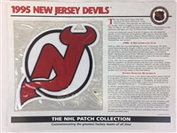 1995 New Jersey Devils Patch NHL Hockey Willabee & Ward Official Jersey Patch