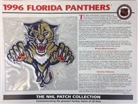 1996 Florida Panthers Patch NHL Hockey Willabee & Ward Official Jersey Patch