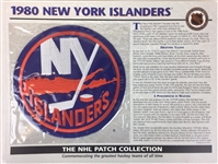 1980 New York Islanders Patch NHL Hockey Willabee & Ward Official Jersey Patch