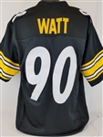 T.J. Watt Pittsburgh Steelers Custom Home Jersey Mens 2XL