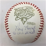"Ray Knight Signed ""86 WS Champs"" 1986 World Series Baseball Steiner COA"