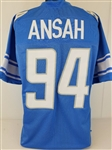 Ziggy Ansah Detroit Lions Custom Home Jersey Mens 3XL