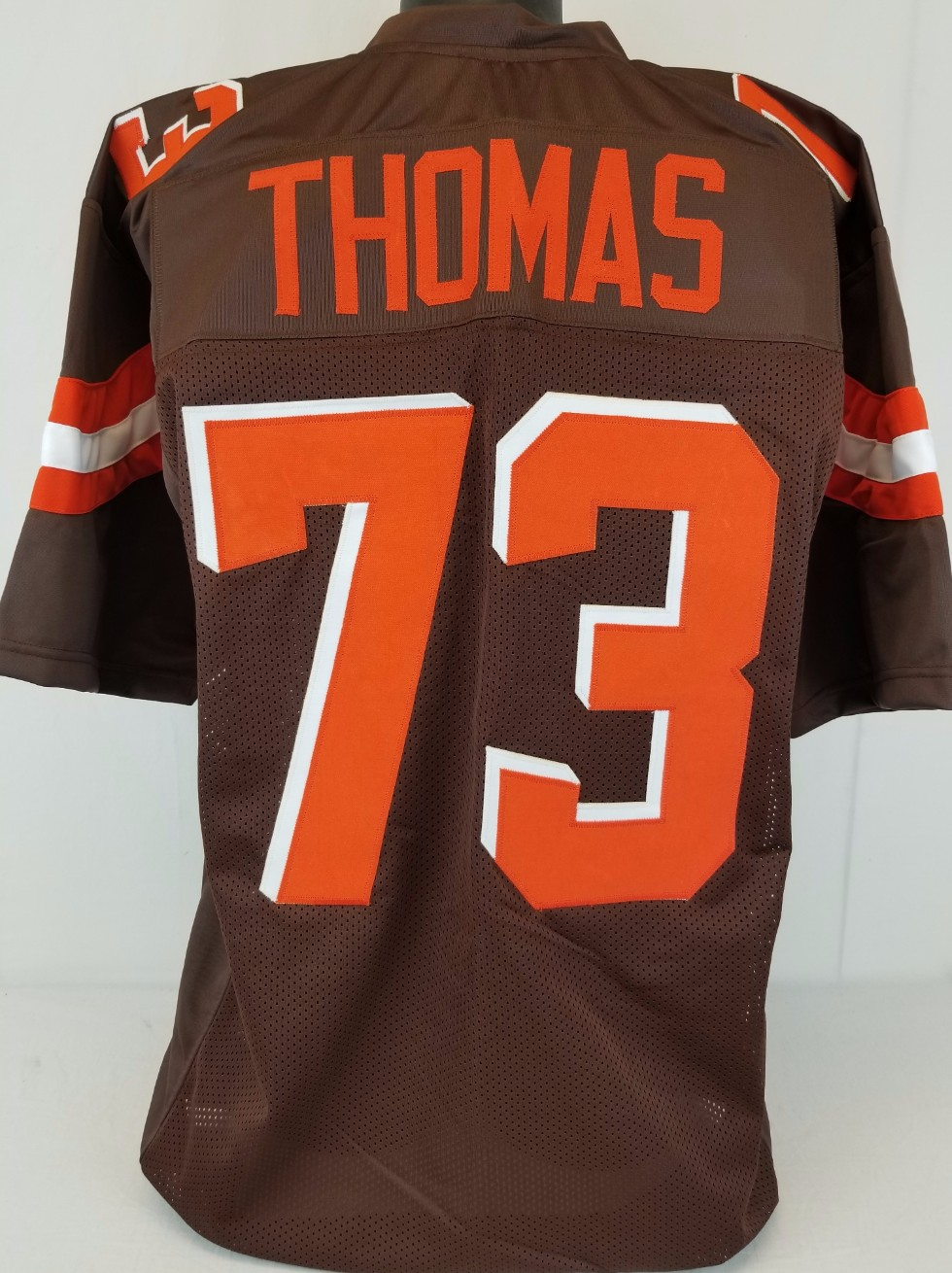 innovative design 7dac9 a69d8 Item Detail - Joe Thomas Cleveland Browns Custom Home Jersey ...