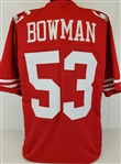 Navorro Bowman San Francisco 49ers Custom Home Jersey Mens Large