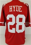 Carlos Hyde San Francisco 49ers Custom Home Jersey Mens Large