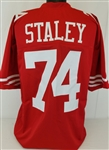 Joe Staley San Francisco 49ers Custom Home Jersey Mens 2XL
