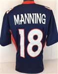 Peyton Manning Denver Broncos Custom Alternate Jersey Mens 3XL