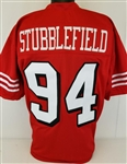 Dana Stubblefield San Francisco 49ers Custom Home Jersey Mens Large