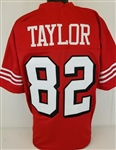 John Taylor San Francisco 49ers Custom Home Jersey Mens Large