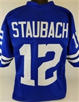 Roger Staubach Dallas Cowboys Custom Away Jersey Mens 3XL