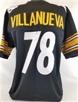 Alejandro Villanueva Pittsburgh Steelers Custom Home Jersey Mens 3XL