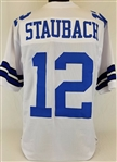 Roger Staubach Dallas Cowboys Custom Home Jersey Mens 2XL