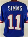 Phil Simms New York Giants Custom Home Jersey Mens Large