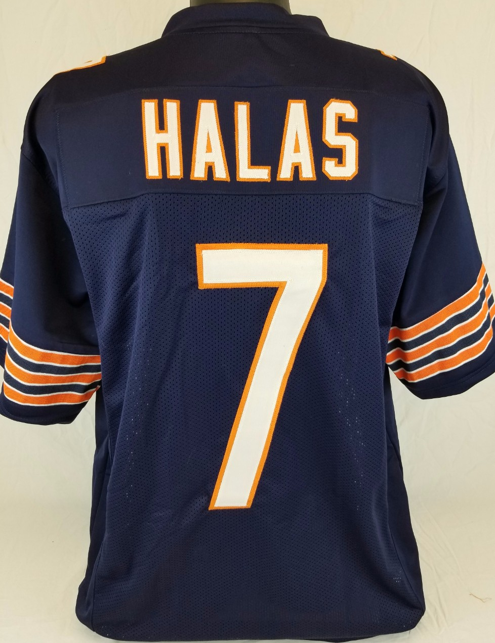 pretty nice d5d08 aacb8 Item Detail - George Halas Chicago Bears Custom Home Jersey ...