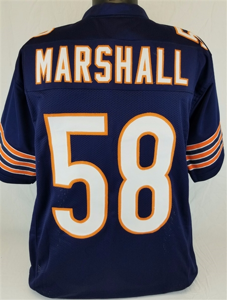 Wilber Marshall Chicago Bears Custom Home Jersey Mens 2XL