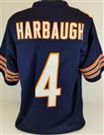 Jim Harbaugh Chicago Bears Custom Home Jersey Mens XL