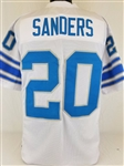 Barry Sanders Detroit Lions Custom Away Jersey Mens 3XL