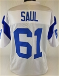 Rich Saul Los Angeles Rams Custom White Away Jersey Mens 2XL