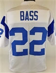 Dick Bass Los Angeles Rams Custom White Away Jersey Mens XL