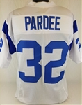 Jack Pardee Los Angeles Rams Custom White Away Jersey Mens 3XL