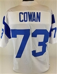 Charlie Cowan Los Angeles Rams Custom White Away Jersey Mens 2XL