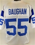 Maxie Baughan Los Angeles Rams Custom White Away Jersey Mens 2XL
