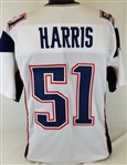 David Harris New England Patriots Custom Away Jersey Mens Large
