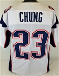 Patrick Chung New England Patriots Custom Away Jersey Mens Large
