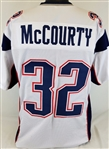 Devin McCourty New England Patriots Custom Away Jersey Mens Large
