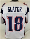 Matthew Slater New England Patriots Custom Away Jersey Mens Large