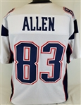 Dwayne Allen New England Patriots Custom Away Jersey Mens Large