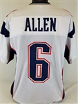 Ryan Allen New England Patriots Custom Away Jersey Mens Large