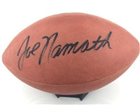 Joe Namath New York Jets Signed Official Duke Football JSA & Steiner COA  #S60975