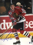 Jeremy Roenick Chicago Blackhawks Signed 8x10 Photo Beckett COA #B75257
