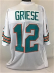 Bob Griese Miami Dolphins Custom Away Jersey Mens XL